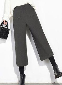 Pantalones y Leggings Pantalones Poliéster Ancho