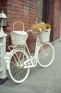 Bahçelerde bisiklet dekoru 5
