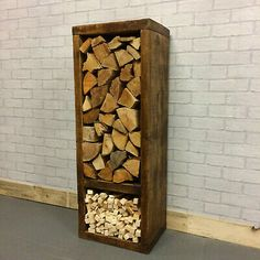 firewood storage indoor fireplace wood photo 7 of box go Indoor Log Holder, Indoor Log Storage, Indoor Firewood Rack, Firewood Basket, Log Store Indoor, Diy Log Store, Wood Holder For Fireplace, Fireplace Hearth, Fireplaces