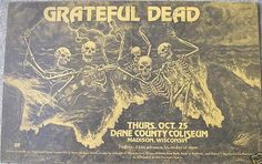 10/25/73 Dane County Memorial Coliseum, Madison, Wisconsin