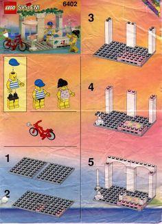Paradisa - Sidewalk Cafe [Lego 6402]