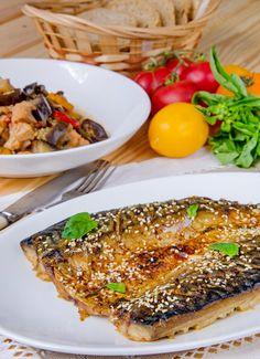 Скумбрия, запеченная. Рецепт с фото.   Еда XXI века. Кулинарный блог Тимошина Алексея.