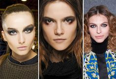 Fall/ Winter 2013-2014 Makeup Trends - Smokey Eyes