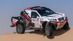 Extreme version of the Nissan Navara to compete in Dakar 2019 Dirt Racing, Off Road Racing, 4x4 Off Road, Road Race Car, Race Cars, Pajero Off Road, 2000 Toyota Tacoma, Trophy Truck, Nissan Navara