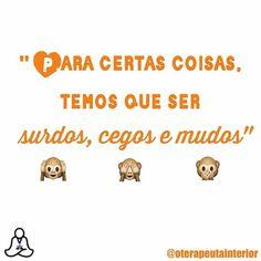 Fundamental para nossa saúde mental! #regram @oterapeutainterior #frases #comportamento #humor #saúdemental #oterapeutainterior