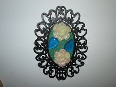 Cute frame from Micheals and some jewelry gems.
