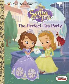 The Perfect Tea Party (Disney Junior: Sofia the First) (Little Golden Book) by Andrea Posner-Sanchez http://www.amazon.com/dp/0736431098/ref=cm_sw_r_pi_dp_hxZ4vb0JC8WPQ