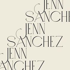 Custom font for lady Jenn. Not the one we're going for but still deserves some 🖤 Typography Love, Typography Inspiration, Typography Letters, Graphic Design Typography, Graphic Design Inspiration, Branding Design, Brand Inspiration, Typographie Logo, Types Of Lettering