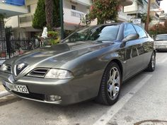 Manos is proud of his Alfa 166 2.5 V6!