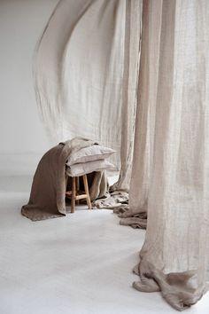 Decoracion Low Cost, Interior Inspiration, Design Inspiration, Interior And Exterior, Interior Design, Web Design, House Design, Linen Curtains, Slow Living