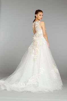 Lazaro Wedding Dress Fall 2013 Bridal 3366 I'm in love
