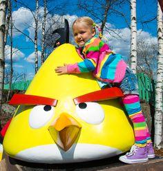 The world's first Angry Birds Land is located at Särkänniemi Adventure Park, Tampere Finland, #sarkanniemi
