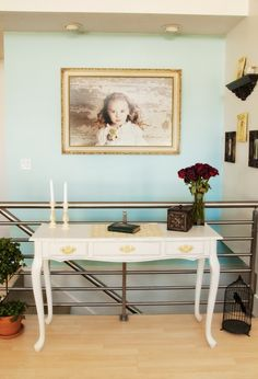The Savvy Photographer: Search results for studio    This looks a LOT like the desk I just bought, wonder if I paint it white?  Catherine, thoughts... this is so pretty!