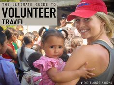 The idea of volunteer travel is something that appeals to many people. This guide covers the ethics and expectations of volunteering abroad. Oh The Places You'll Go, Places To Travel, Travel Destinations, Solo Travel, Travel Tips, Travel The World For Free, Volunteer Abroad, Volunteer Trips, Volunteer Gifts