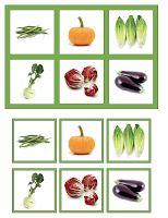 The Helpful Garden: Vegetable Match Game