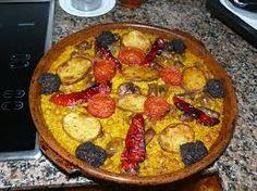 Resultado de imagen de arroz al horno vegetariano
