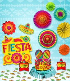 fiesta decorations most of these dont look too tough to duplicate - Fiesta Decorations