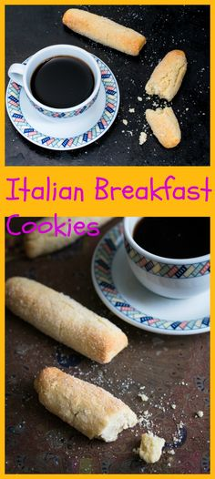 Traditional Italian breakfast cookies soft inside and crunchy on the outside great for dunking.