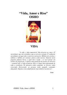 OSHO: Vida, Amor e Riso