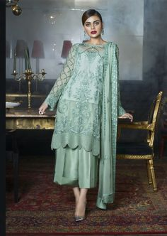 Shop salwar suits online for ladies from BIBA, W & more. Explore a range of anarkali, punjabi suits for party or for work. Pakistani Fashion Casual, Pakistani Dresses Casual, Pakistani Dress Design, Indian Fashion, Dress Indian Style, Indian Dresses, Indian Outfits, Indian Attire, Indian Ethnic Wear