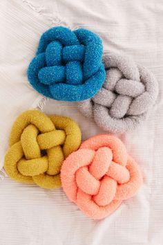 Cozy Knot Pillow