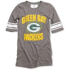 NFL Green Bay Packers Girls Football Tee Shirt