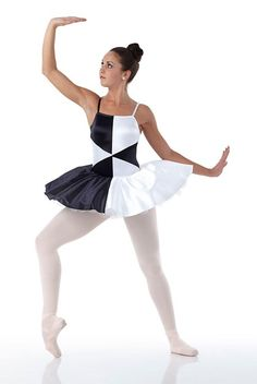 FRACTAL Ballerina Contemporary Ballet Tutu Dance Costume Child 6x7 to Adult Lar #Cicci