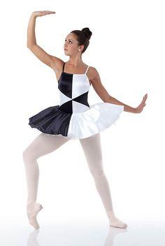 FRACTAL Ballerina Contemporary Ballet Tutu Dance Costume Child 6x7 to Adult Lar #Cicci