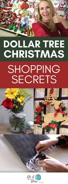 Today we are shopping at the Dollar Tree for Christmas. I'm sharing simple and fast DIY projects (a wreath and a pillow) and some of my favorite gift ideas for I hope you enjo… Dollar Tree Gifts, Dollar Tree Christmas, Dollar Tree Decor, Diy Christmas Gifts, White Christmas, Christmas Stuff, Christmas Ornament, Christmas Ideas, Christmas Decorations Diy For Kids