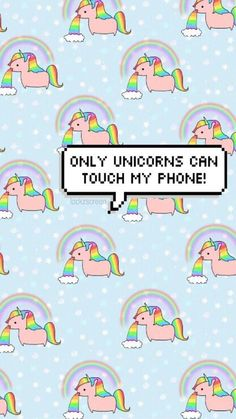✨ Wallpaper Lockscreen Unicorns