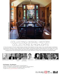 Collecting Design: History, Collections, Highlights, Fall 2019 at the Center for Architecture/AIA Design History, Educational Programs, Mid Century Design, Contemporary Design, Highlights, Collections, Studio, Architecture, Fall