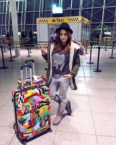 Sylwia Nowak i nasze walizki American Way !