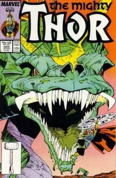 Mighty Thor # 380 by Walter Simonson