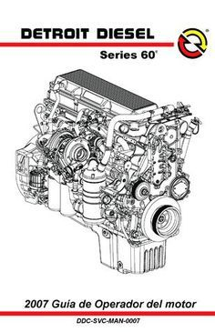 Detroit Diesel Series 60 Engine Diagram : detroit, diesel, series, engine, diagram, MANUAL, FREIGHTLAINER, Detroit, Diesel,, Diesel, Engine,