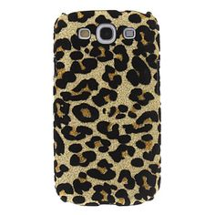 EUR € 2.75 - Bling Leopard Print Pattern Hard Takakansi Case for Samsung Galaxy S3 I9300