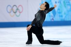 SOCHI, RUSSIA - FEBRUARY 13: Patrick Chan of Canada competes during the Men's Figure Skating Short Program on day 6 of the Sochi 2014 Winter Olympics at the at Iceberg Skating Palace on February 13, 2014 in Sochi, Russia. (Photo by Matthew Stockman/Getty Images)