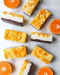 VEGAN MANDARIN-TURMERIC CHEESECAKE BARS