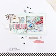 #scrapbooking page by Janna Werner. 7 Tage - 7 Layouts mini event (free).