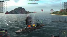 Steel Ocean is a Free to Play (F2P), Naval Warships warfare, Shooting MMO Game set in World War II period