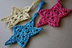 Crochet Christmas Stars