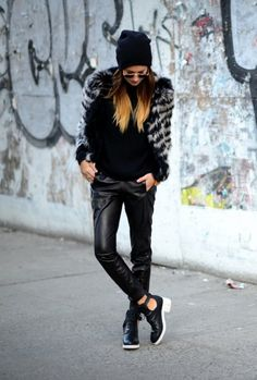 weworewhat leather pants