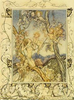 Fairy song - Arthur Rackham