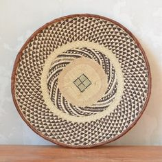 African Design, Plate, Decoration, Contemporary Art, Arts And Crafts, Objects, Art Deco, Pattern, Indigo