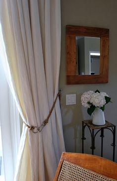 DIY Rope Curtain Tiebacks and More! | sophisticatedyellow.comsophisticatedyellow.com