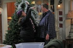 "I love ""Mike and Molly""!  Everybody on the show is funny!"