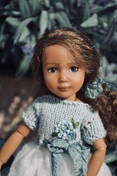 """OOAK bjd doll Kruselings SUSY 9"""" 23cm repainted by Laura Corti for LauraCortiDolls"""