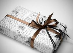 Bookish Wrapping Paper