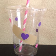 Doc Mcstuffins party cups by DivineGlitters on Etsy