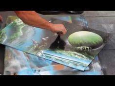 Street Art - Spray Painting - YouTube