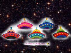 Alien spaceships. ufo